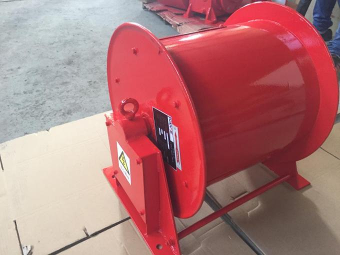 Cable Reeling Drum With Red Surface And 380v/440v Voltage Multi-specification