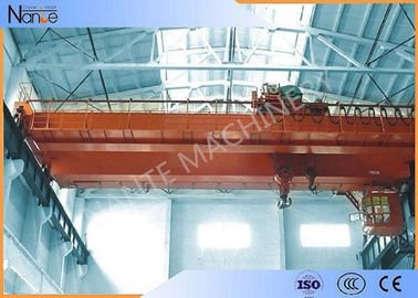 चीन LH10t-20m Custom Electric Traveling  Double Girder Overhead Cranes For Machine Shops आपूर्तिकर्ता