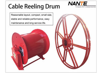 चीन Cable Reeling Drum With Red Surface And 380v/440v Voltage Multi-specification आपूर्तिकर्ता