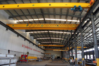 चीन Crab Framed Electric Single Girder Overhead Cranes For General Engineering Application आपूर्तिकर्ता