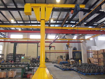 चीन Custom Slewing Movable Jib Cranes with 500kg Max. Lifting Load for Marine Loading आपूर्तिकर्ता