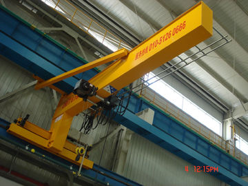 चीन Compacted Frame Wall Traveling Truck Jib Cranes For Fitting & Fabrication Workstation आपूर्तिकर्ता