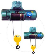 चीन Transfer Cars Electric Wire Rope Hoists with Lifting Capacity 0.5~50ton CD, MD Type आपूर्तिकर्ता