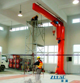 चीन ISO Approval Slewing Workstation Jib Boom Crane For Plant Building Maintenance आपूर्तिकर्ता