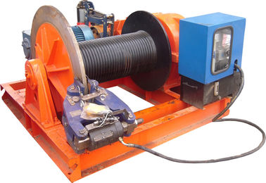 चीन 15t Lifting Load Electric Cable Hoist Winch Consisting Of A Horizontal Cylinder आपूर्तिकर्ता