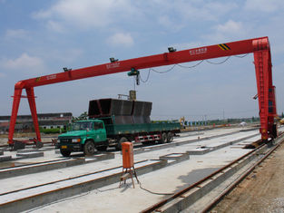 चीन MH15t - 25m - 15m Railway Yard Single Girder Gantry Crane Rail Mounted Gantry Crane आपूर्तिकर्ता