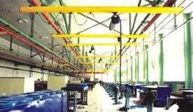 चीन Single Girder Suspension Light Crane Systems With Double Beam , Telescopic Beam आपूर्तिकर्ता