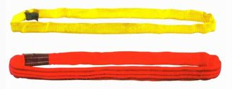चीन Overhead Crane Components For Lifting Goods , Red or Yellow Polyester Round Sling Endless Type आपूर्तिकर्ता