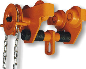 चीन GCL 619 Geared Single Trolley Manual Chain Hoist With Simple And Useful Structure For Mine आपूर्तिकर्ता