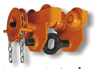 चीन 0.5T-30T Capacity GCL 620 Series Geared Single Trolley Manual Chain Hoist For Warehouses आपूर्तिकर्ता