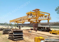 चीन Beam Launcher Gantry Crane for railway construction project with Reliable performance फैक्टरी
