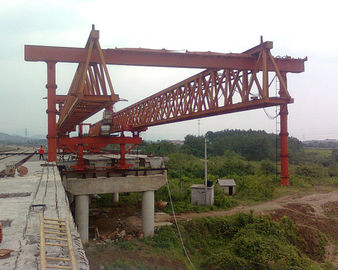 चीन JQG 400T-45M Beam Launcher/ Launcher gantry crane for highway/bridge वितरक