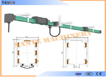 चीन PVC Housing Crane Parts HFP52 Power Rail Enclosed Conductor System वितरक