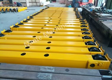 चीन Overhead And Gantry Crane Open Gear End Carriage / Crane Components Light Duty वितरक