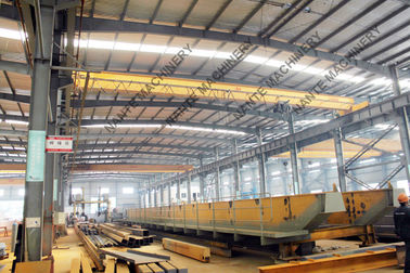 चीन IP56 Single Girder Overhead Medium Duty 5t Bridge Cranes for Machine Shop वितरक
