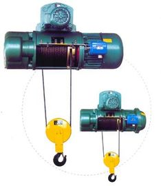 चीन Transfer Cars Electric Wire Rope Hoists with Lifting Capacity 0.5~50ton CD, MD Type वितरक