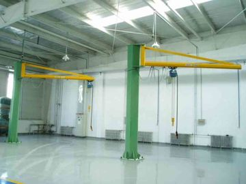 चीन Workstations Jib Cranes Designed for Marine Loading / Building Maintenance फैक्टरी