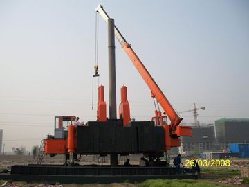 चीन Customized Hydraulic Static Hammer Pile Driver for Construction Site फैक्टरी