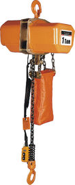 चीन Energy-saving Motor Solid Chain Bucket Electric Chain Hoists For Heavy Duty Industry वितरक