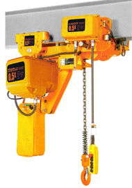 चीन Lifting Height 6-8m Low Headroom 3 Ton Electric Chain Hoists EHK­-L Type वितरक