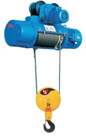 चीन 0.5 - 50 Ton Lifting Capacity Electric Portable Crane Hoist For Heavy Duty Industrial वितरक