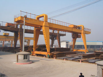 चीन MG120t - 32m - 22m Double Beam Gantry Crane For Steel Factory / Port / Shipbuilding वितरक