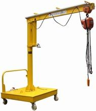 चीन Movable Motorized Rotation Wall Mount Jib Crane For Control / Position A Load फैक्टरी