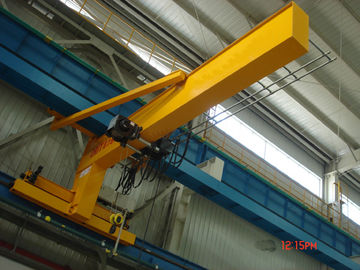 चीन Festoon Systems Wall Travelling Jib Crane Long Life Jib Boom Crane Motorized Rotation फैक्टरी