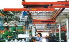 चीन Cold-rolled Telescopic Beam Flexible Light Crane Systems वितरक