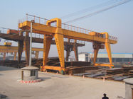 MG120t - 32m - 22m Double Beam Gantry Crane For Steel Factory / Port / Shipbuilding